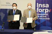 INSAFORP y Swisscontact firman Carta de Entendimiento para continuar beneficiando a personas Migrantes Retornadas